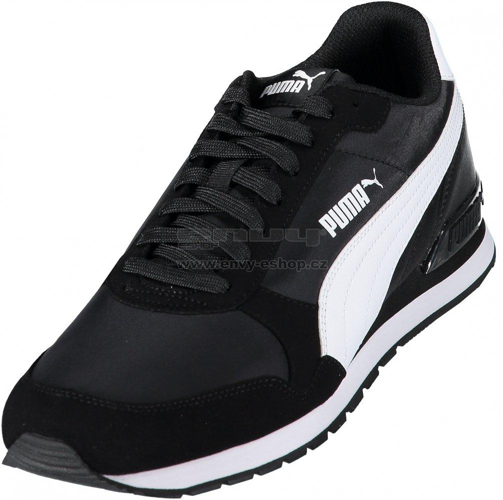 d8007ab4680 Pánská běžecká obuv PUMA ST RUNNER V2 NL 36527801 PUMA BLACK PUMA WHITE