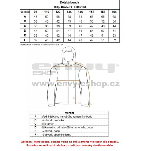 Chlapecká zimní bunda KILPI KIWI-JB HJ0021KI TMAVĚ MODRÁ