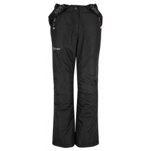 Dětské zimní kalhoty KILPI ELARE-JG HJ0023KI ČERNÁ