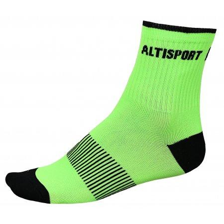 Sportovní ponožky ALTISPORT TAHAT ALSW17401 ZELENOČERNÁ