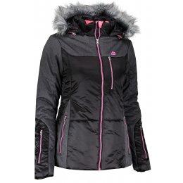 Dámská zimní bunda ALPINE PRO TENEA LJCK235 ČERNÁ