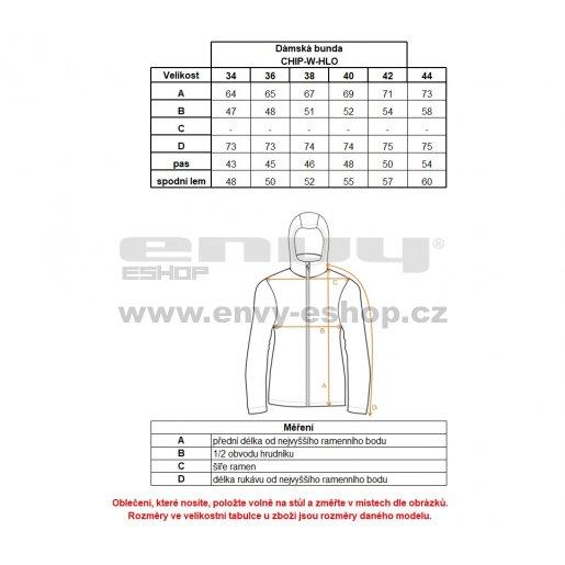 Dámská zimní bunda KILPI CHIP-W HL0084KI TMAVĚ MODRÁ