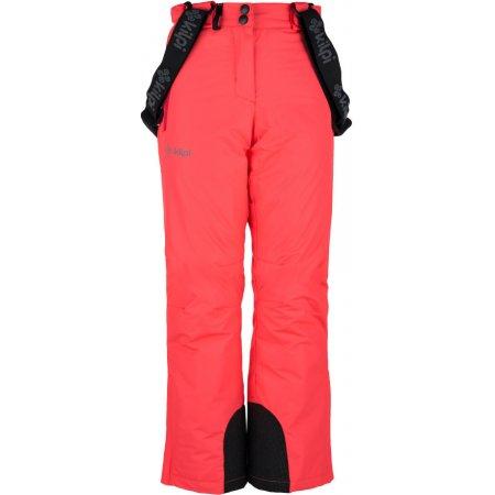 Dívčí zimní kalhoty KILPI ELARE-JG HJ0023KI RŮŽOVÁ