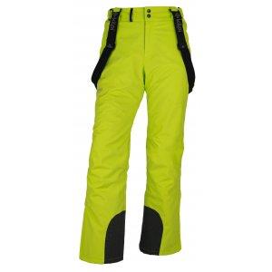 Pánské zimní kalhoty KILPI MIMAS-M HM0013KI SVĚTLE ZELENÁ