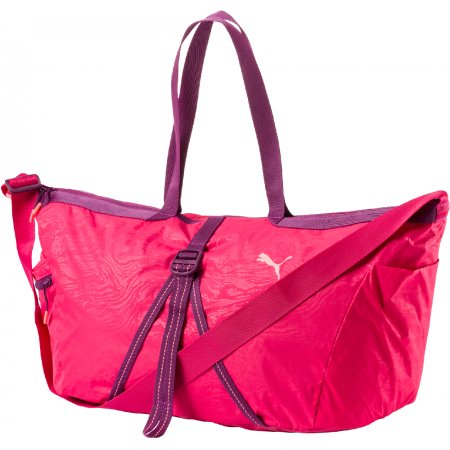 Taška PUMA FIT AT WORKOUT BAG 07470203 LOVE POTION/DARK PURPLE