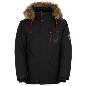 Pánská zimní bunda KILPI PILOT-M HM0109KI ČERNÁ