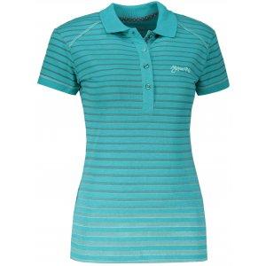 Dámské triko s límečkem ALPINE PRO HEIKA LTSL286 MODRÁ