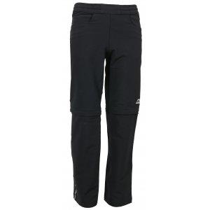 Dětské softshellové kalhoty/šortky ALPINE PRO PANTALEO 3 KPAL094 ČERNÁ