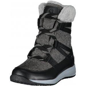 Dámské zimní boty SALOMON HEIKA CS WP BLACK/QUARRY/ALLOY