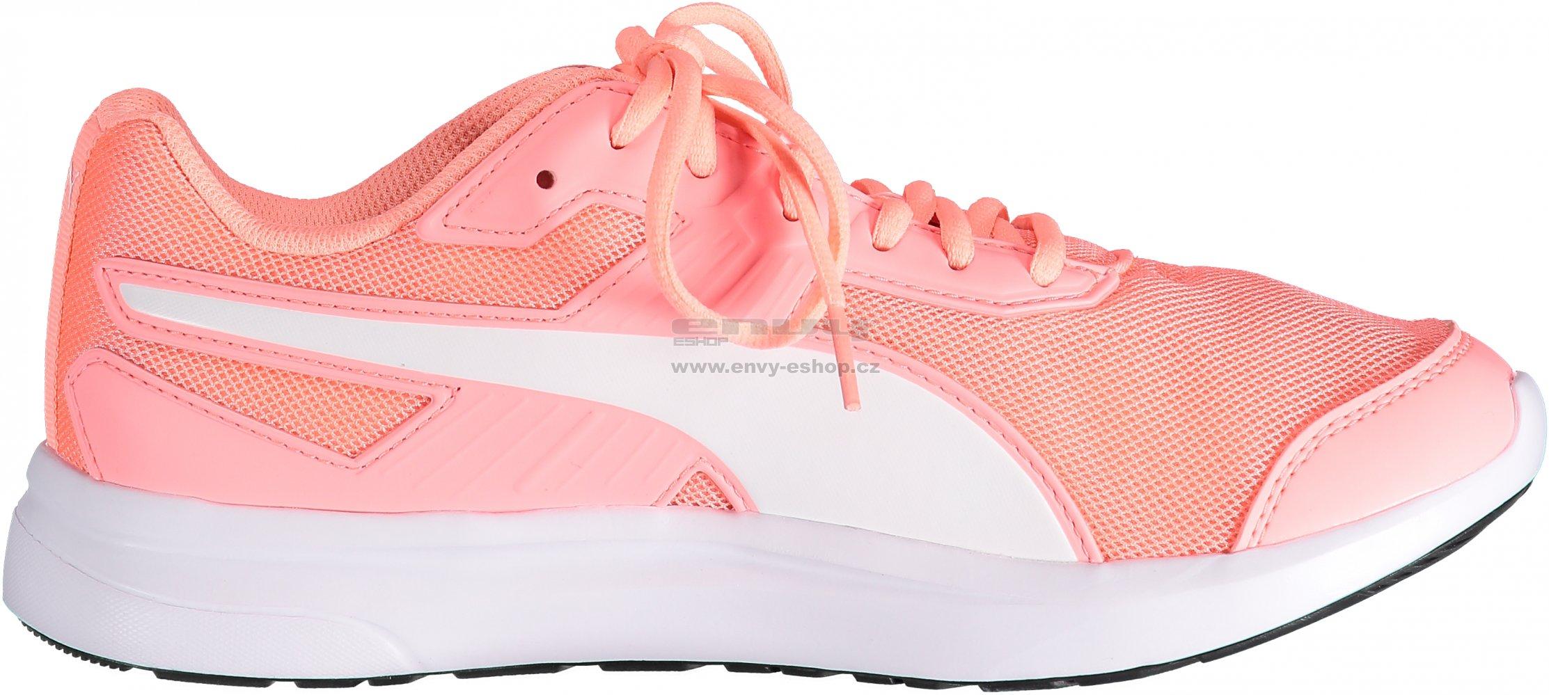 9888d2389a7 Dámská běžecká obuv PUMA ESCAPER MESH 36430710 SOFT FLUO PEACH PUMA WHITE