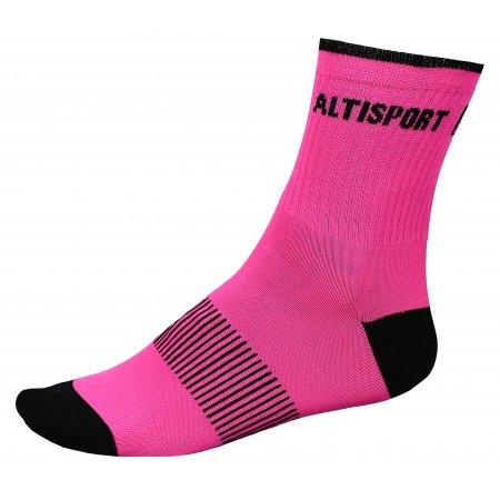 Sportovní ponožky ALTISPORT TAHAT ALSW17401 RŮŽOVOČERNÁ