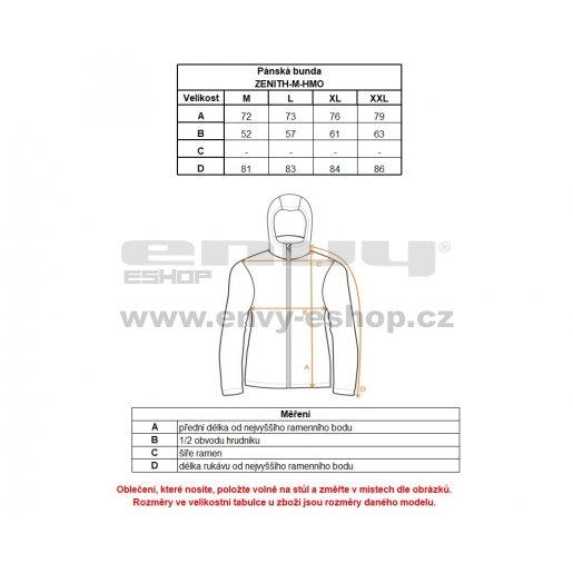 Pánská softshellová bunda KILPI ZENITH-M HM0108KI MODRÁ
