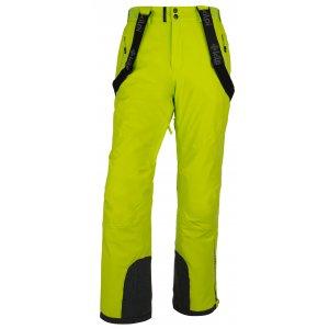 Pánské zimní kalhoty KILPI METHONE-M HM0012KI SVĚTLE ZELENÁ