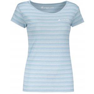 Dámské triko s krátkým rukávem ALPINE PRO PENSIERI 3 LTSL271 SVĚTLE MODRÁ