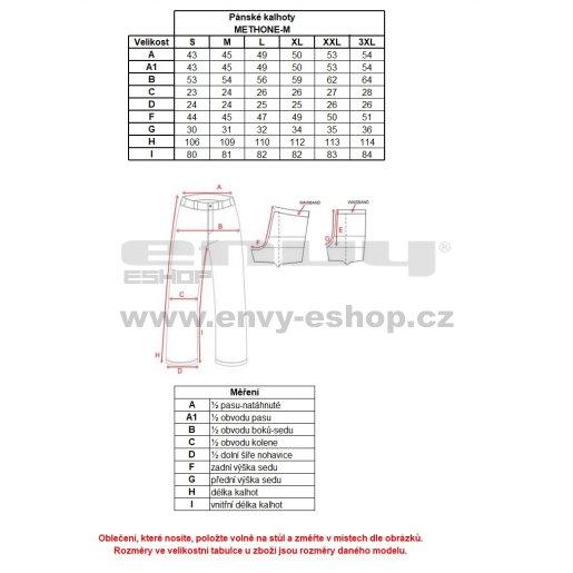 Pánské zimní kalhoty KILPI METHONE-M HM0012KI ČERNÁ