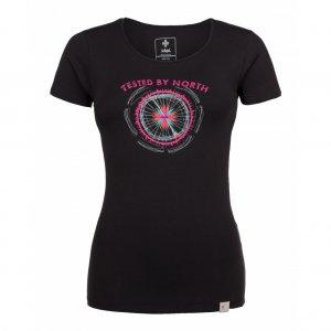 Dámské tričko s krátkým rukávem KILPI CAMI-W HL0165KI ČERNÁ