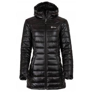 Dámský zimní kabát KILPI SYDNEY-W HL0042KI ČERNÁ