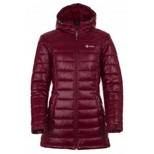Dámský zimní kabát KILPI SYDNEY-W HL0042KI ČERVENÁ