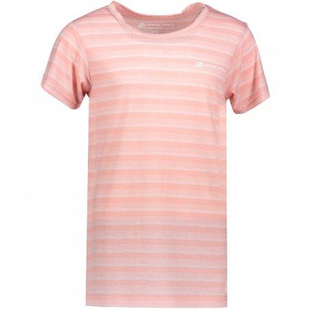 Dětské tričko s krátkým rukávem ALPINE PRO PENSIERO 3 KTSL096 SVĚTLE RŮŽOVÁ