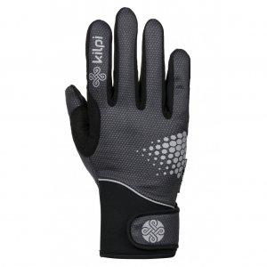 Softshellové rukavice KILPI NEDEL-U HU0156KI ČERNÁ