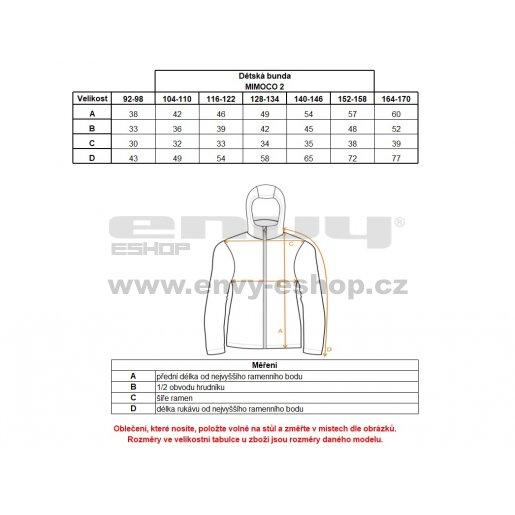 Dětská sportovní bunda ALPINE PRO MIMOCO 2 KJCL090 RŮŽOVÁ