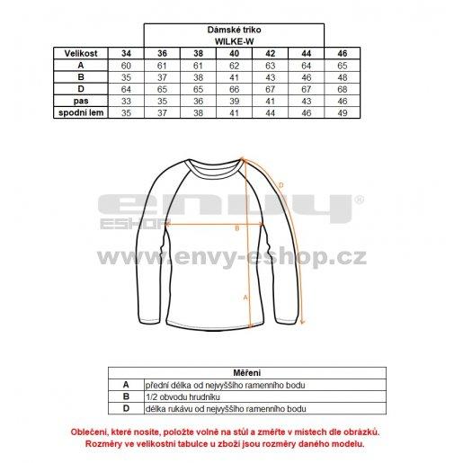 Dámské funkční triko KILPI WILKE-W HL0031KI RŮŽOVÁ