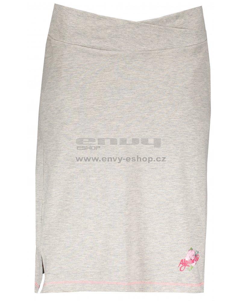 Dámská sukně ALPINE PRO MANIQUA 2 LSKL097 ŠEDÁ velikost  S   ENVY ... 1078bab718