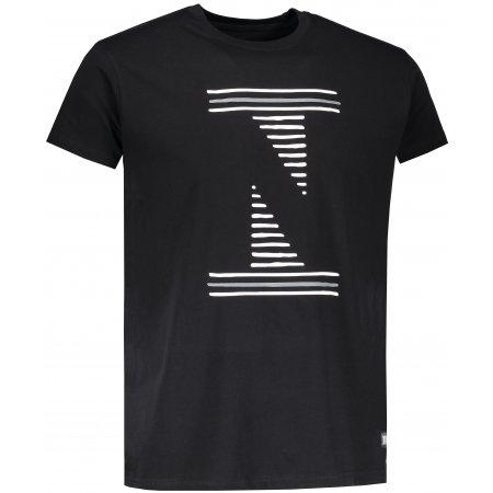 Pánské tričko NORDBLANC LOUVRE NBSMT6811 ČERNÁ