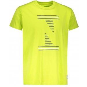 Pánské tričko NORDBLANC LOUVRE NBSMT6811 JASNĚ ZELENÁ