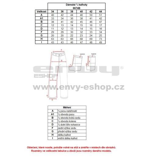 Dámské 3/4 kalhoty NORDBLANC EXTANT NBSPL6674B ČERNÁ