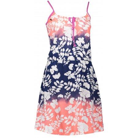 Dámské šaty KIXMI ERIN AALDS18601 TMAVĚ MODRÁ