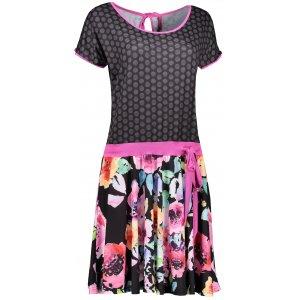 Dámské šaty KIXMI ENRICA AALDS18600 ČERNÁ