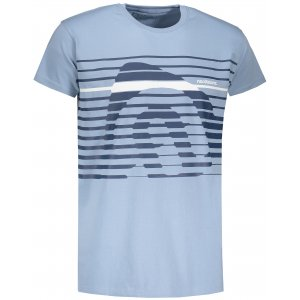 Pánské tričko NORDBLANC FUNKY NBSMT6807 MODRÝ SEN