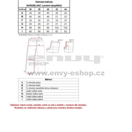 Dámské kalhoty NORDBLANC LENIENT NBSPL6642 LILIOVĚ ŠEDÁ