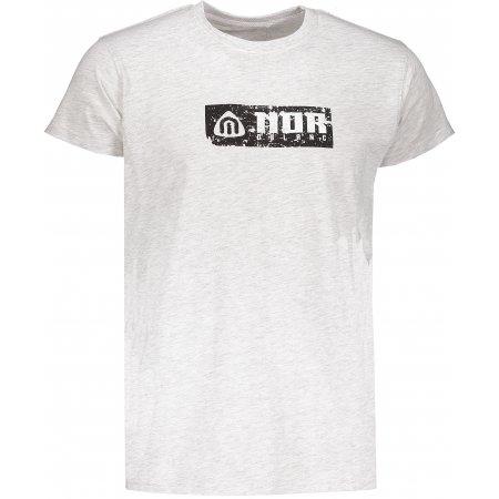 Pánské tričko NORDBLANC BEELINE NBSMT6809 SVĚTLE ŠEDÝ MELÍR