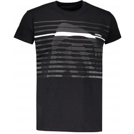 Pánské tričko NORDBLANC FUNKY NBSMT6807 ČERNÁ