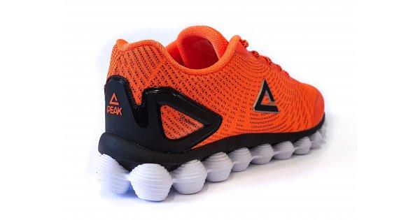 dfc9dbd5df8 Pánská sportovní obuv PEAK CUSHION RUNNING SHOES E73387H ZÁŘIVÁ ORANŽOVÁ  velikost  EU 41 (UK 7