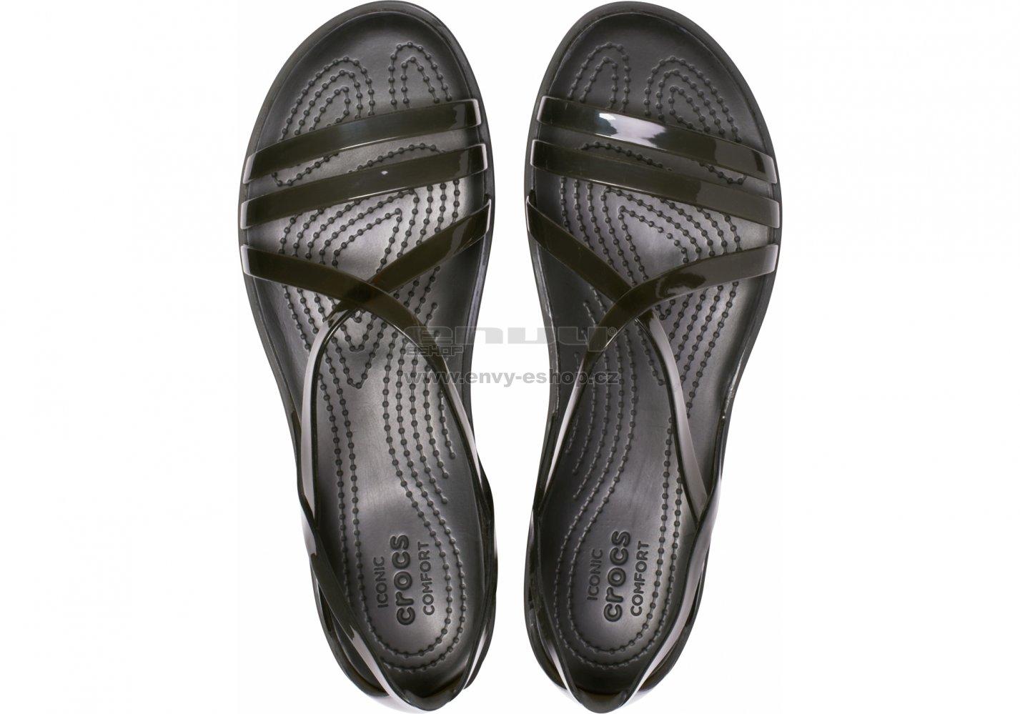 dd7add891378 Dámské sandále CROCS ISABELLA STRAPPY SANDAL 204915-001 BLACK ...