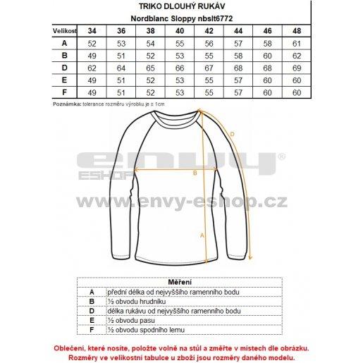 Dámské tričko NORDBLANC SLOPPY NBSLT6772 ČERVENÁ MALINA