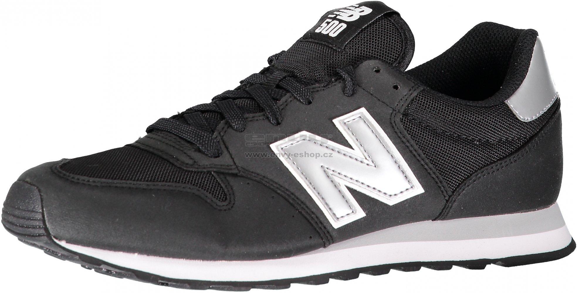 Pánská obuv NEW BALANCE GM500KSW BLACK SILVER velikost  EU 44 (UK 9 ... d1cea67bc4