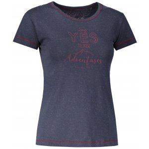 Dámské tričko s krátkým rukávem ALPINE PRO ROZENA 4 LTSL285 TMAVĚ MODRÁ
