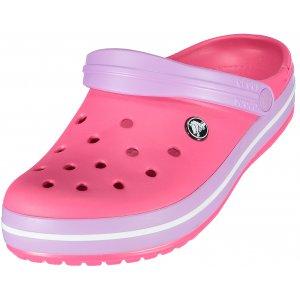 Dámské pantofle CROCS CROCBAND CLOG 11016-6OC PARADISE PINK/IRIS