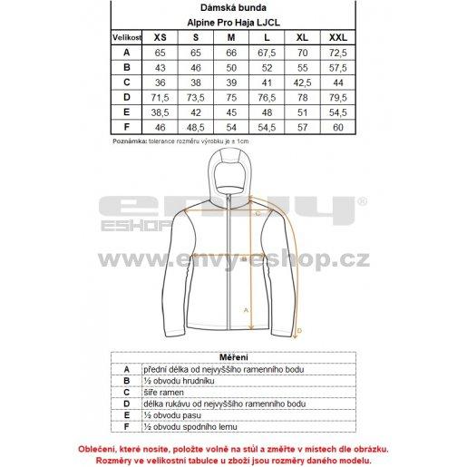 Dámská softshellová bunda ALPINE PRO HAJA LJCL282 RŮŽOVÁ