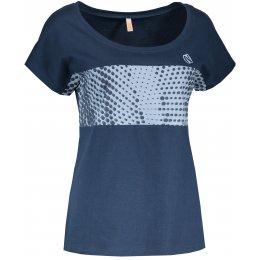 Dámské tričko NORDBLANC THROB NBSLT6732 MODRÁ HVĚZDA