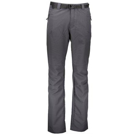 Pánské softshellové kalhoty ALPINE PRO CARB 2 MPAL149 TMAVĚ ŠEDÁ