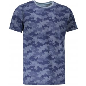 Pánské tričko s krátkým rukávem ALPINE PRO KERP 2 MTSL270 MODRÁ
