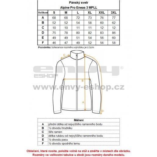 Pánský svetr ALPINE PRO ENEAS 3 MPLL040 TMAVĚ MODRÁ velikost  XXXL ... 94b56baa7c