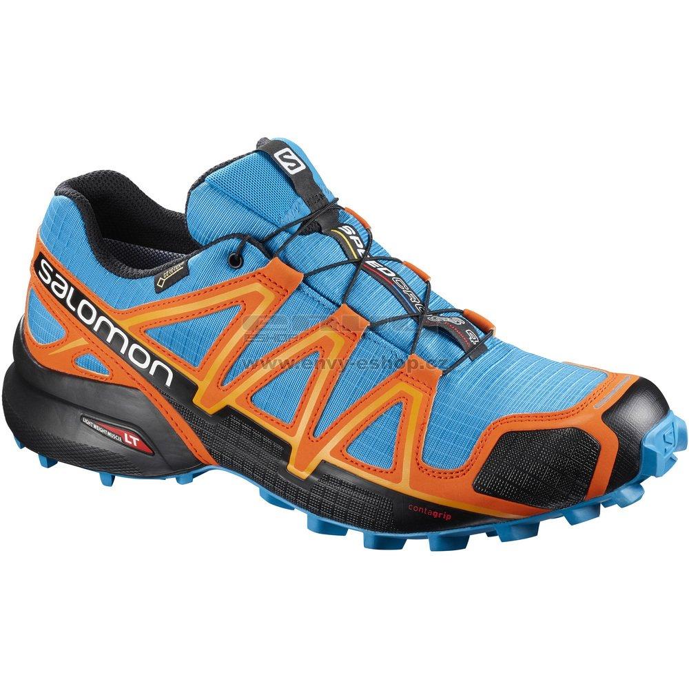Pánské běžecké boty SALOMON SPEEDCROSS 4 GTX® L40124800 HAWAIIAN  SURF BLACK SCARLET IBIS 89cfc90356e