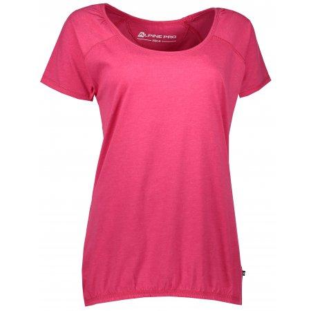 Dámské triko s krátkým rukávem ALPINE PRO BRAMA LTSL382 RŮŽOVÁ