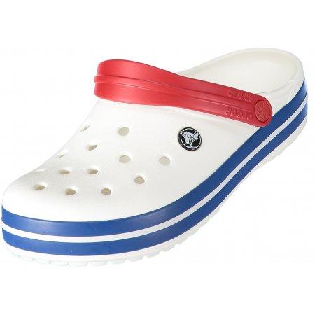 Dámské pantofle CROCS CROCBAND CLOG 11016-11I WHITE/BLUE JEAN